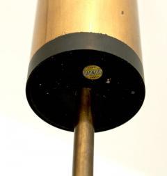 Stilnovo PAIR OF STILNOVO FLOOR LAMPS GLASS DIFFUSERS MARBLE BASE - 1933930