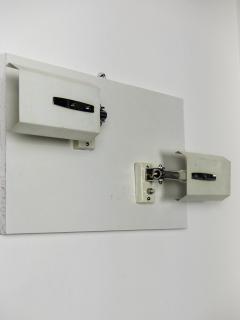 Stilnovo Pair of White Mod 2133 Adjustable Wall Lights - 909511