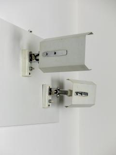 Stilnovo Pair of White Mod 2133 Adjustable Wall Lights - 909517
