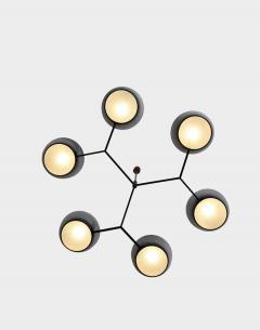 Stilnovo Rare Ceiling Light in Brass - 1312695