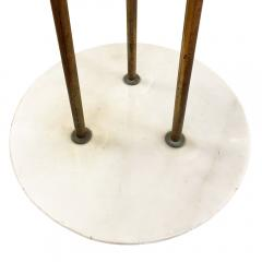 Stilnovo Rare Stilnovo Floor Lamp with Textured Glass Marked - 2073024