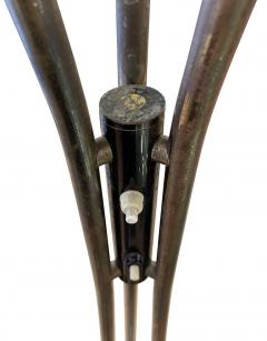 Stilnovo Rare Stilnovo Floor Lamp with Textured Glass Marked - 2073045