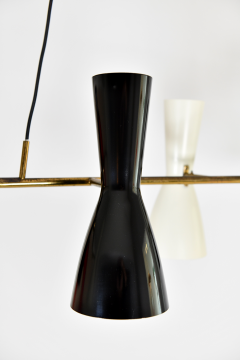 Stilnovo Rare hanging Light with six adjustable shades - 2023704