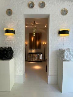 Stilnovo Rare pair of wall lights - 1531692