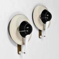 Stilnovo Rare pair of wall lights Model B 4917 - 2011209