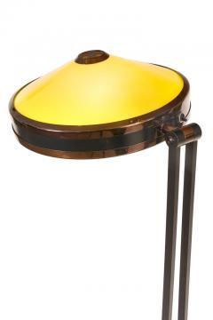 Stilnovo Stilnovo Adjustable Yellow White Perspex Floor Lamp Model 4067 - 2059961