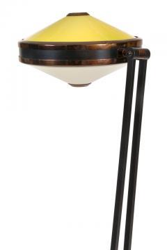 Stilnovo Stilnovo Adjustable Yellow White Perspex Floor Lamp Model 4067 - 2059962