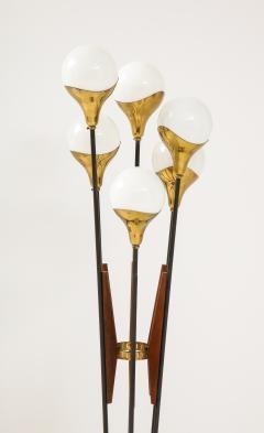 Stilnovo Stilnovo Alberello Floor Lamp with Six Globe Lights 1950s - 1814956
