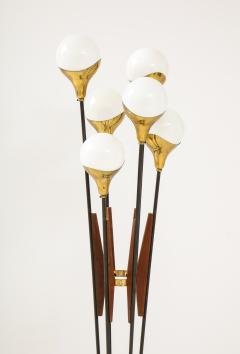Stilnovo Stilnovo Alberello Floor Lamp with Six Globe Lights 1950s - 1814963