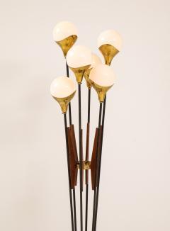 Stilnovo Stilnovo Alberello Floor Lamp with Six Globe Lights 1950s - 1814974