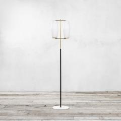 Stilnovo Stilnovo Floor Lamp with Diffusers in Opal Glass and Base in Marble - 2047745