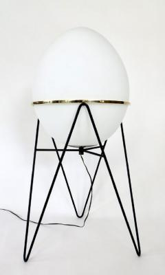 Stilnovo Stilnovo Italian Egg or Uovo Shaped Glass Floor Lamps - 477355