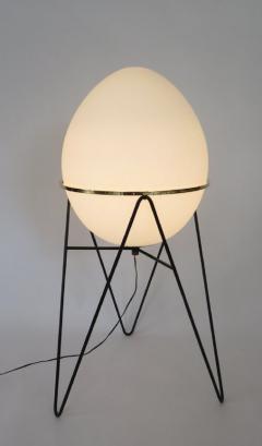 Stilnovo Stilnovo Italian Egg or Uovo Shaped Glass Floor Lamps - 477356