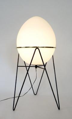 Stilnovo Stilnovo Italian Egg or Uovo Shaped Glass Floor Lamps - 477357