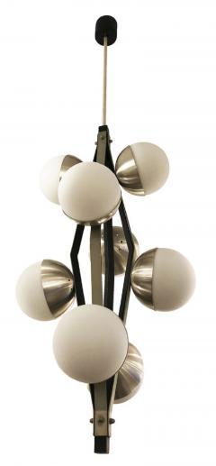 Stilnovo Stilnovo Pendant with Eight Globes - 1252730