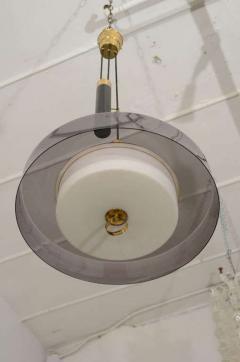 Stilnovo Stilnovo Pulley Light with Smokey Acrylic Shade - 1094503