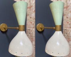 Stilnovo Stilnovo Style Sconces Italy 1960s - 1247011