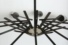 Stilnovo Stilnovo style brass chandelier - 765986