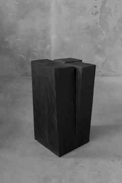 Studio Arno Declercq Arno Declercq Iroko Wood Four Legs Side Table or Stool - 1068915