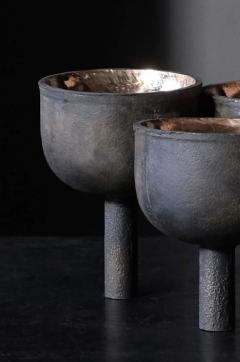 Studio Arno Declercq Bronze Triple Tray Signed Arno Declercq - 1400119