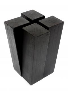 Studio Arno Declercq Studio Arno Declercq Iroko Wood Four Legs Stool or Side Table - 1108973