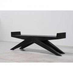 Studio Arno Declercq V Bench in Iroko Wood by Arno Declercq - 1692844