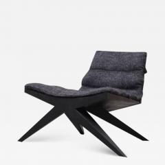 Studio Arno Declercq V Easy Chair in Iroko Wood by Arno Declercq - 1695128