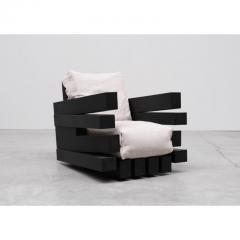 Studio Arno Declercq Zoumey Armchair in Iroko Wood by Arno Declercq - 1671563