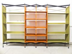 Studio BBPR Combinable Spazio Shelving System for Olivetti 1960s - 896299
