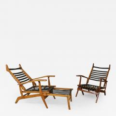 Studio BBPR Folding chairs and deckchairs by BBPR YEARS 50  - 1060576