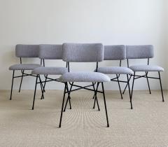 Studio BBPR Set of 5 BBPR Elettra dining chairs - 1972009