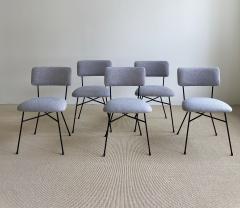 Studio BBPR Set of 5 BBPR Elettra dining chairs - 1972010