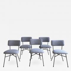 Studio BBPR Set of 5 BBPR Elettra dining chairs - 1972813