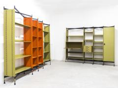 Studio BBPR Spazio Shelving System with Lockers and Drawers for Olivetti 1960s - 896253
