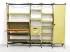 Studio BBPR Spazio Shelving System with Lockers and Drawers for Olivetti 1960s - 896254