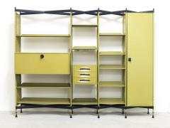 Studio BBPR Spazio Shelving System with Lockers and Drawers for Olivetti 1960s - 896256