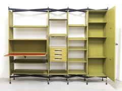 Studio BBPR Spazio Shelving System with Lockers and Drawers for Olivetti 1960s - 896258