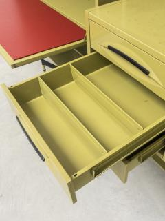 Studio BBPR Spazio Shelving System with Lockers and Drawers for Olivetti 1960s - 896270