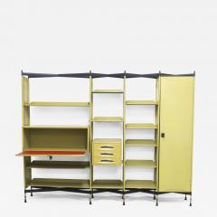 Studio BBPR Spazio Shelving System with Lockers and Drawers for Olivetti 1960s - 897777