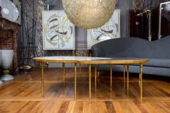Studio Glustin Set of Three Mirror Top Tables by Studio Glustin - 1017208