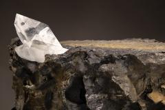 Studio Greytak Erosion Cast Bronze Side Table - 2045495