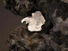 Studio Greytak Erosion Cast Bronze Side Table - 2045496