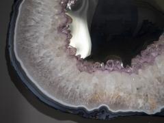 Studio Greytak Lava Amethyst Mirror - 2049521