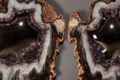 Studio Greytak Pair of Lava Mirrors - 1922857
