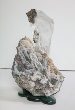 Studio Greytak Selenite on Cast Glass Base by Studio Greytak - 1435945