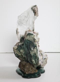 Studio Greytak Selenite on Cast Glass Base by Studio Greytak - 1435947