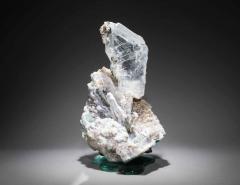 Studio Greytak Selenite on Cast Glass Base by Studio Greytak - 1435949