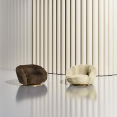Studio SORS ELF Lounge Chair Angora Brown - 1528552