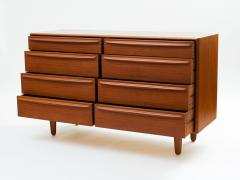 Svend Madsen Svend Aage Madsen Eight Drawer Bureau Dresser in Teak - 313991
