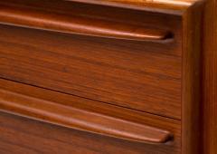 Svend Madsen Svend Aage Madsen Eight Drawer Bureau Dresser in Teak - 313992